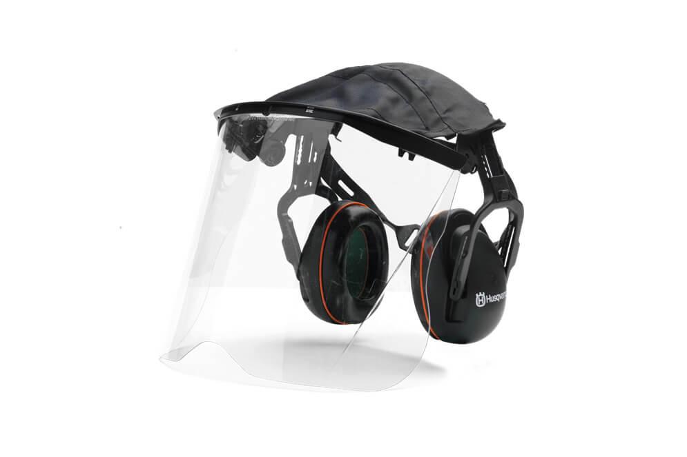 Premium Earmuffs with Plexi Visor